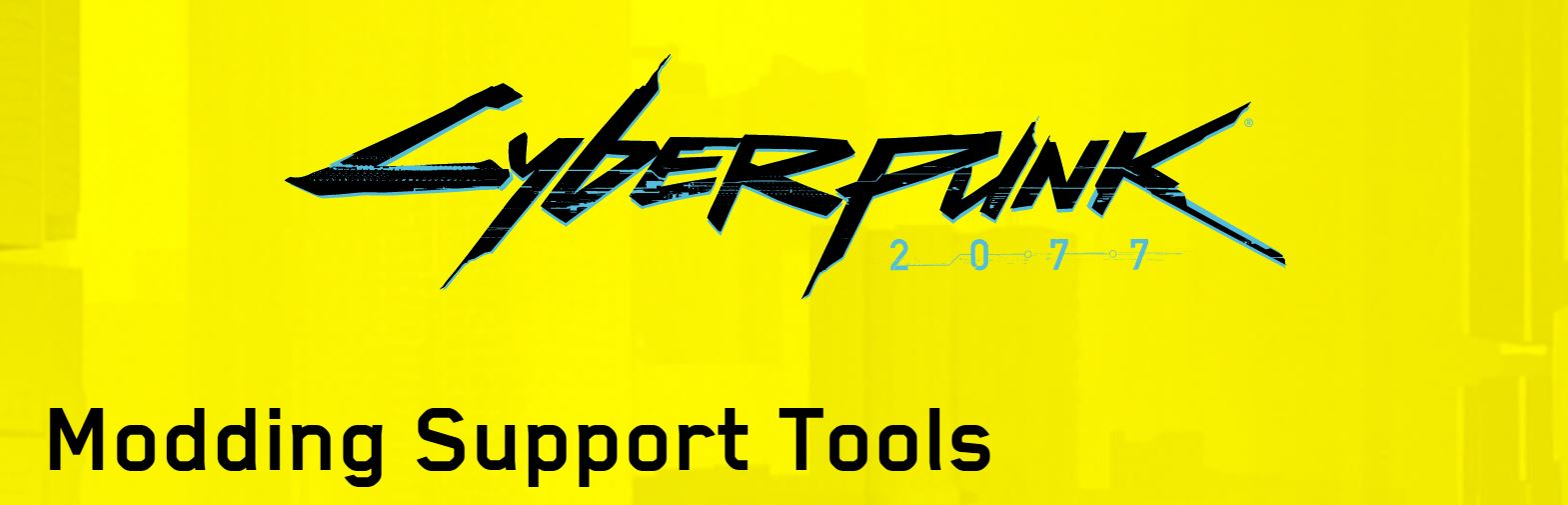 cyberpunk2077 modding support tools