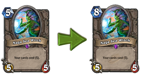Hearthstone: Naga Sea Witch