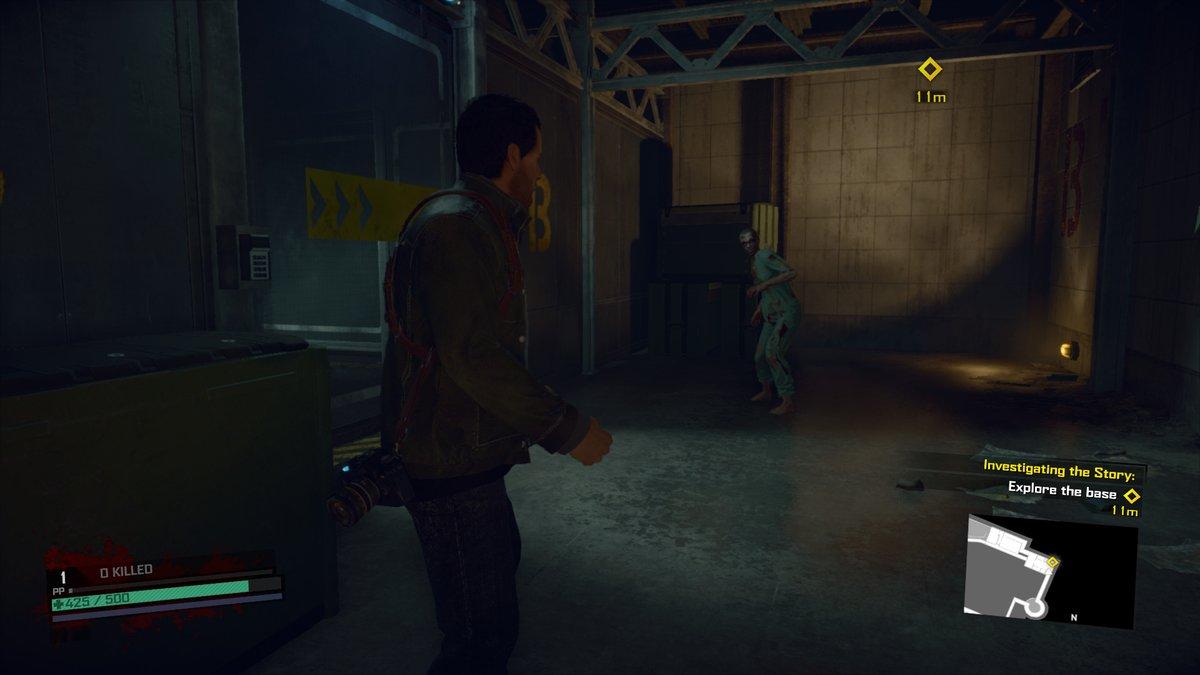 Frank ja zombie Dead Rising 4