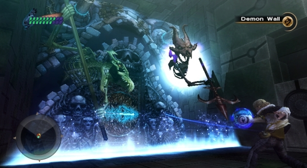 Final Fantasy Crystal Chronicles: The Crystal Bearers tappelu seinää vastaan