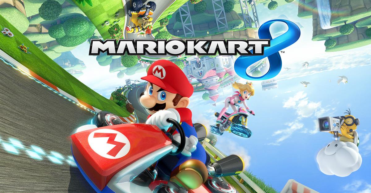 Mario Kart 8 cover art