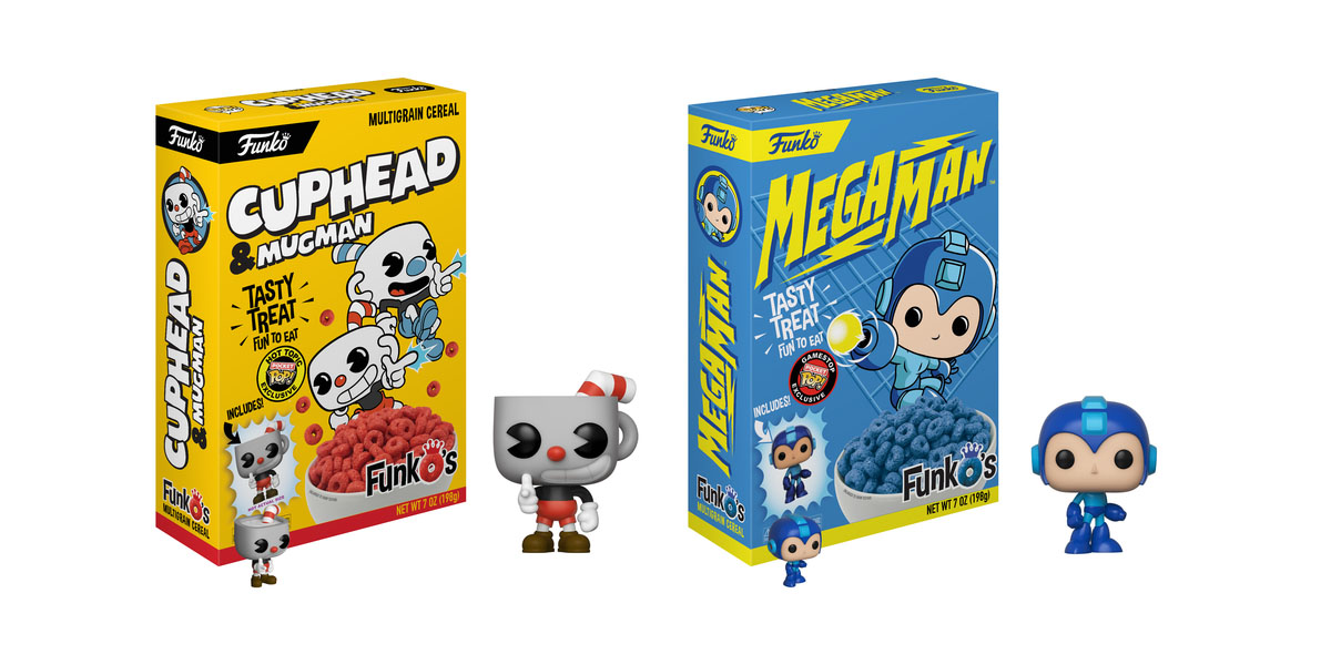 Funko murot Mega Man Cuphead