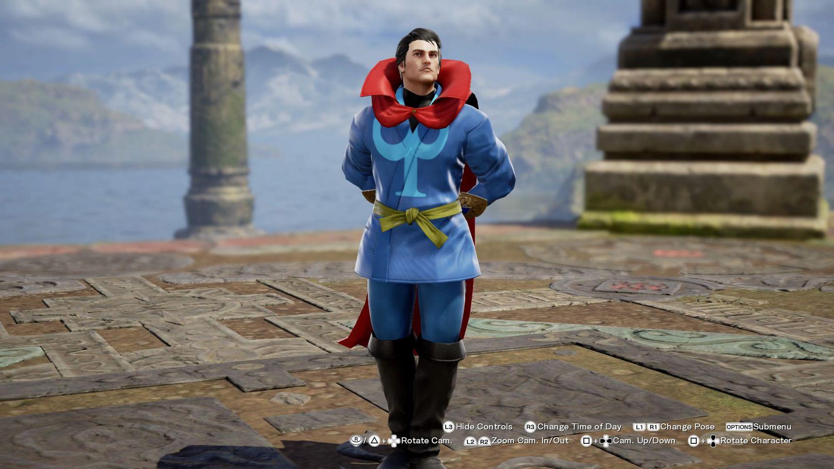 Soul Calibur VI Dr. Strange