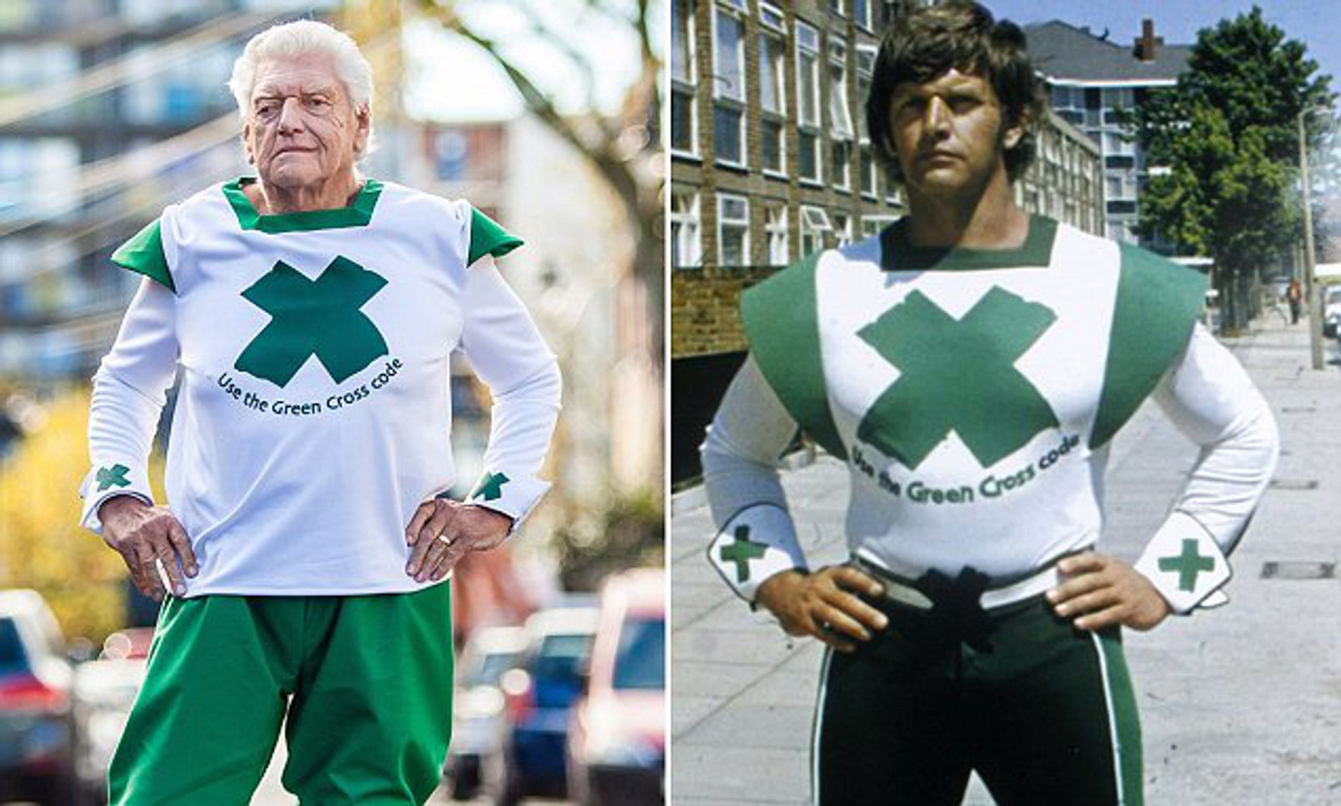 Dave Prowse, Green Cross Code Man