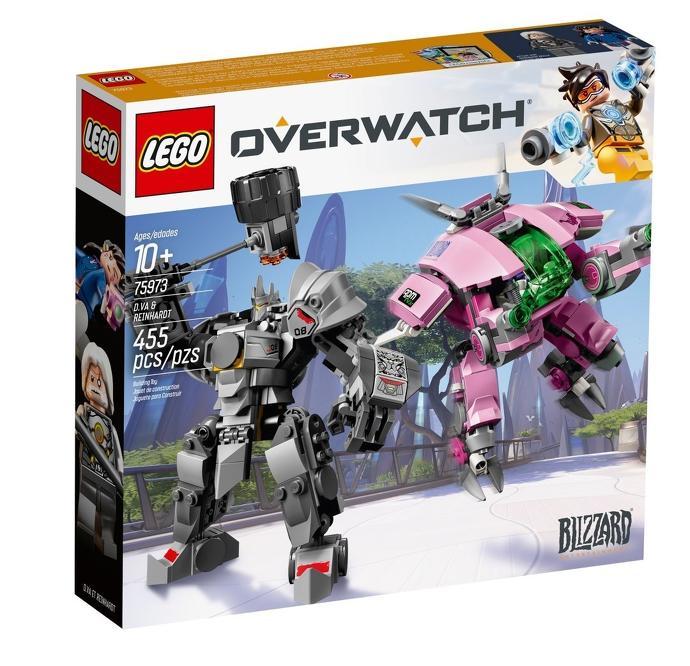 Overwatch Lego 10