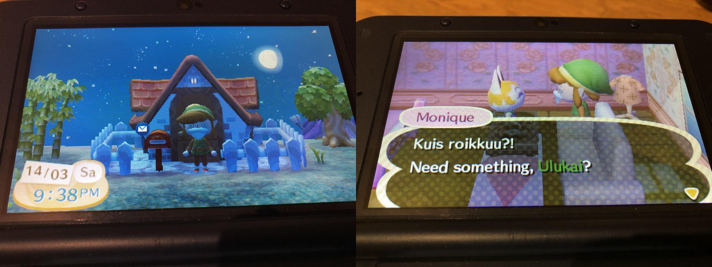 Paluu Animal Crossing -kylään 5.1