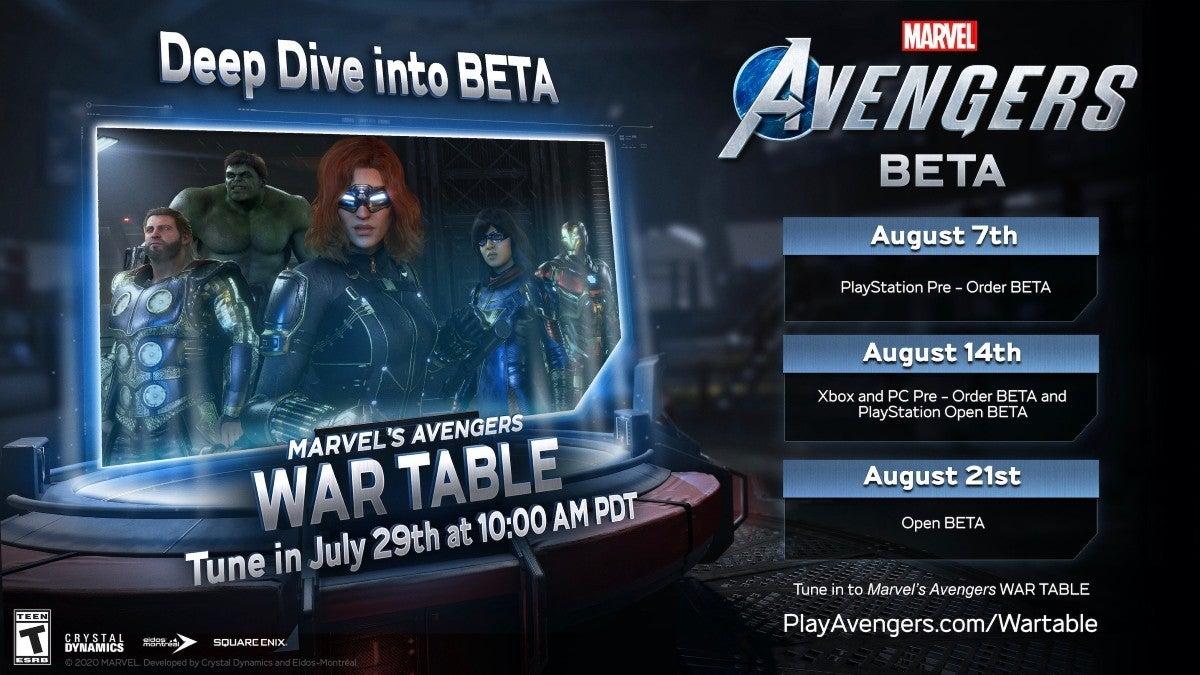 Marvel's Avengers beeta
