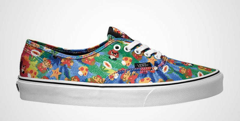 Vans Nintendo kenkä Mario