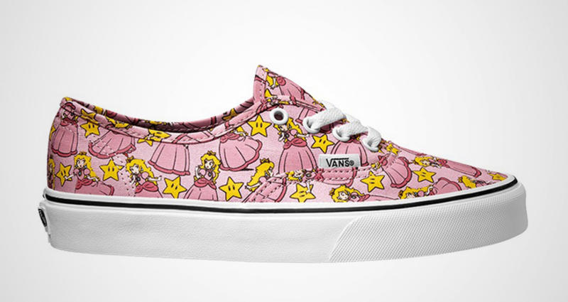 Vans Nintendo kenkä Peach