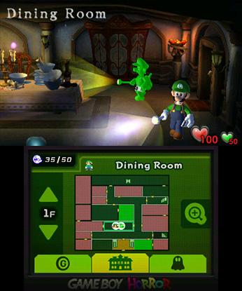 Luigi's Mansion Luigi ja Gooigi