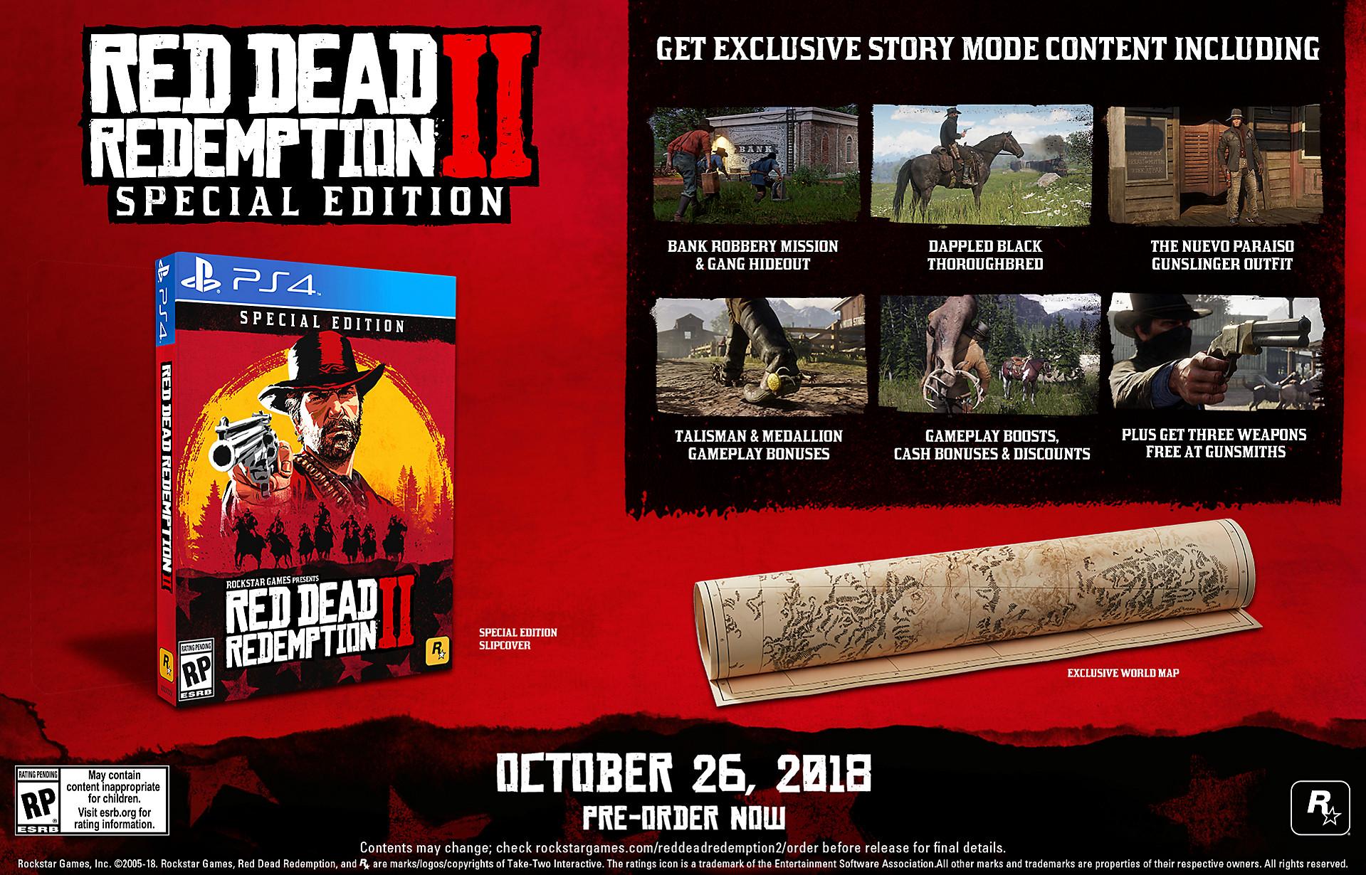 Red Dead Redemption 2 ennakkotilaus