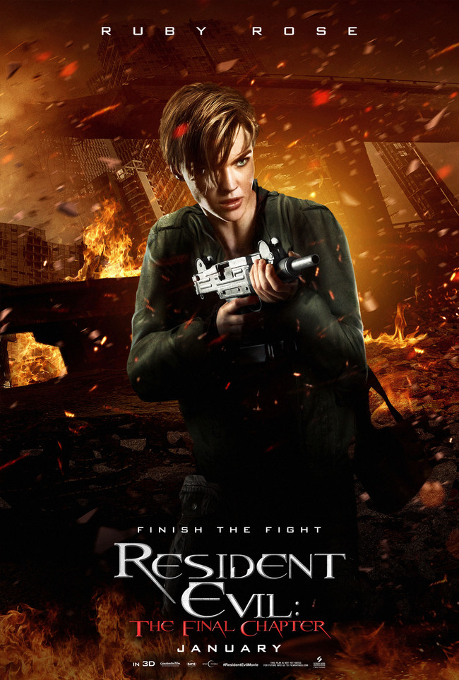 Resident Evil: The Final Chapter Ruby Rose