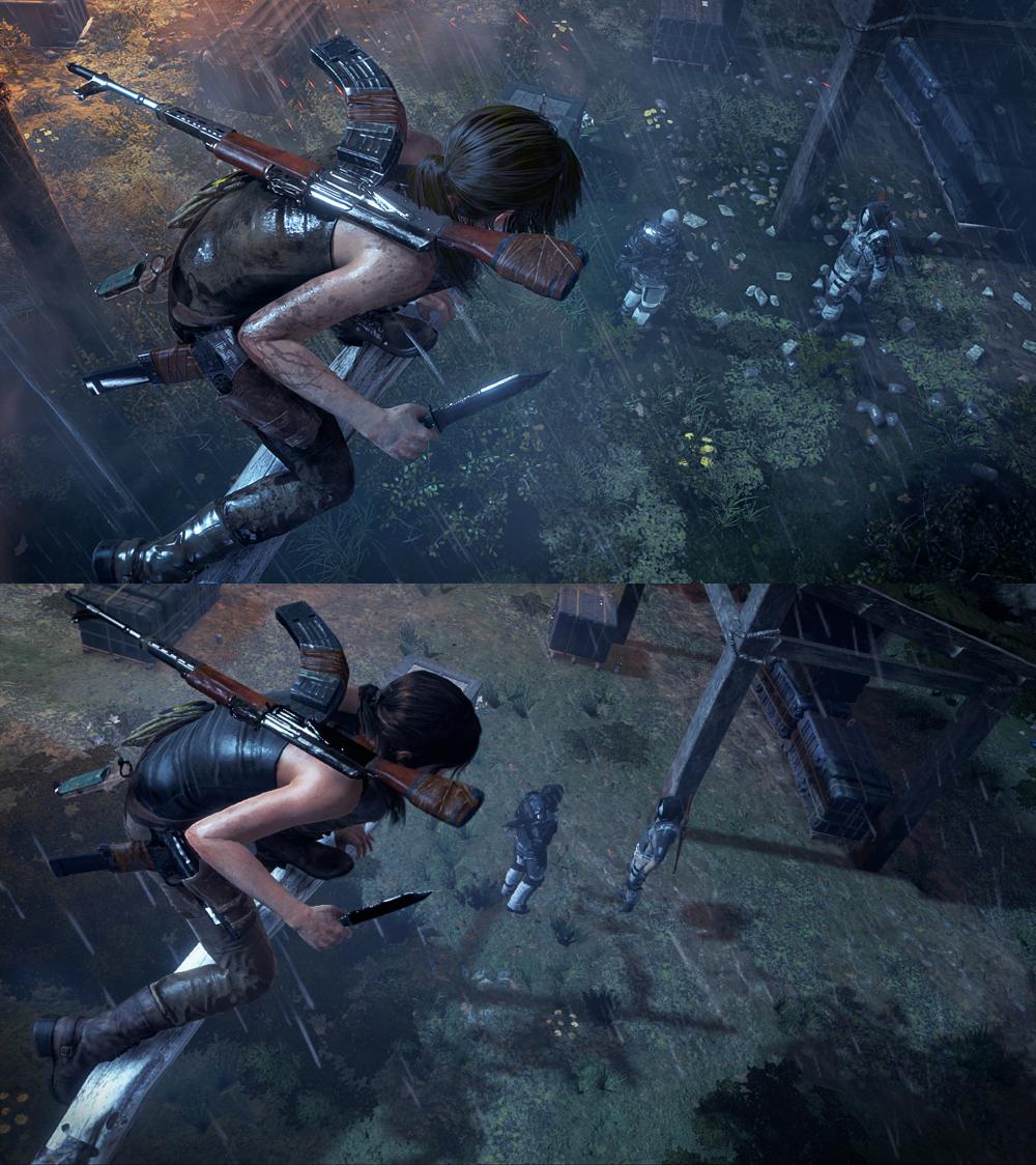 Rise of the Tomb Raider vertailu 2
