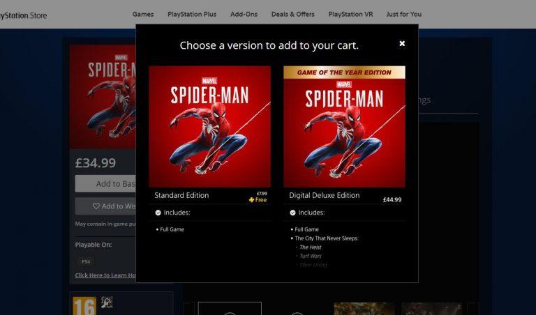 Spider Man leak