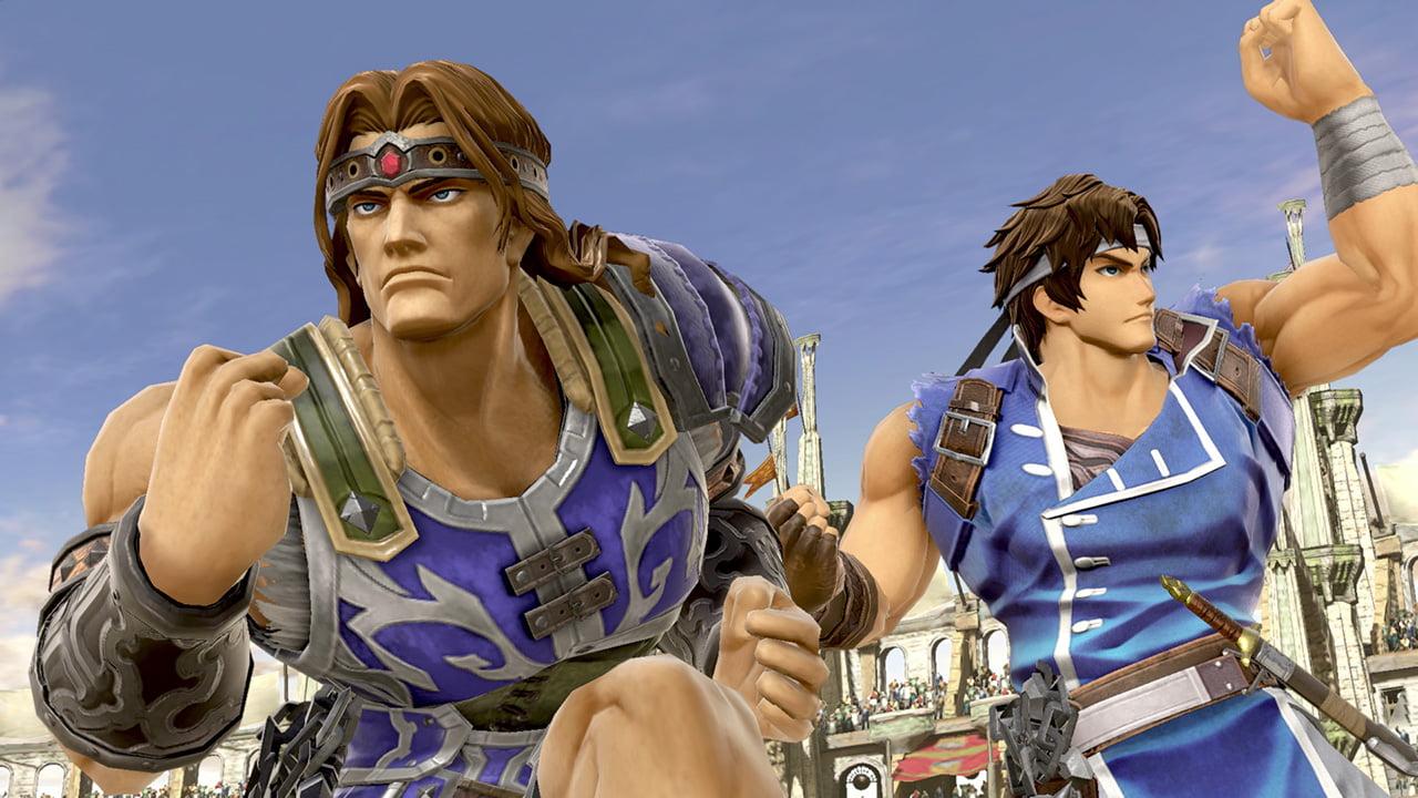Simon ja Richter Belmont Super Smash Bros. Ultimate