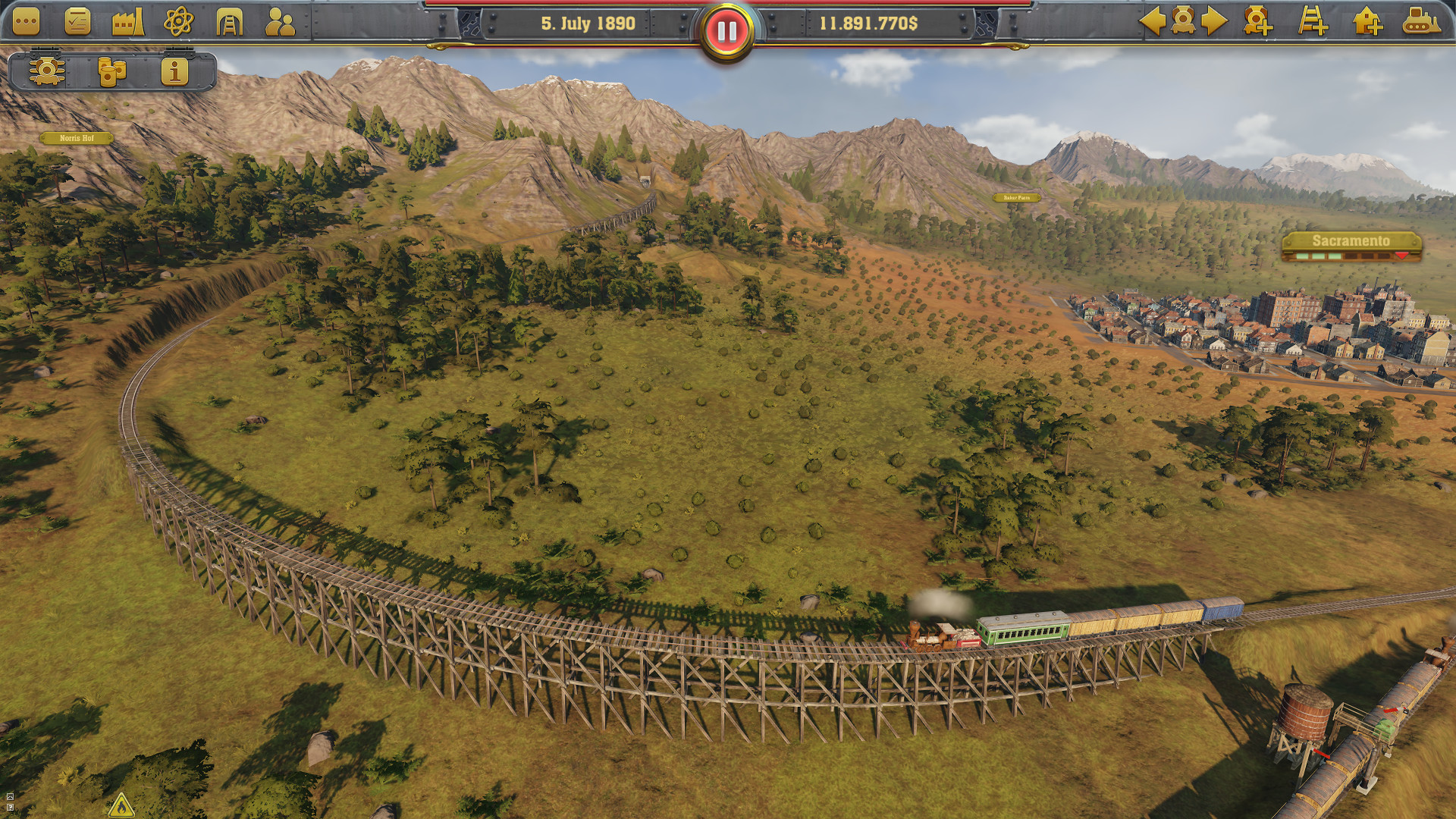 Railway Empire rata