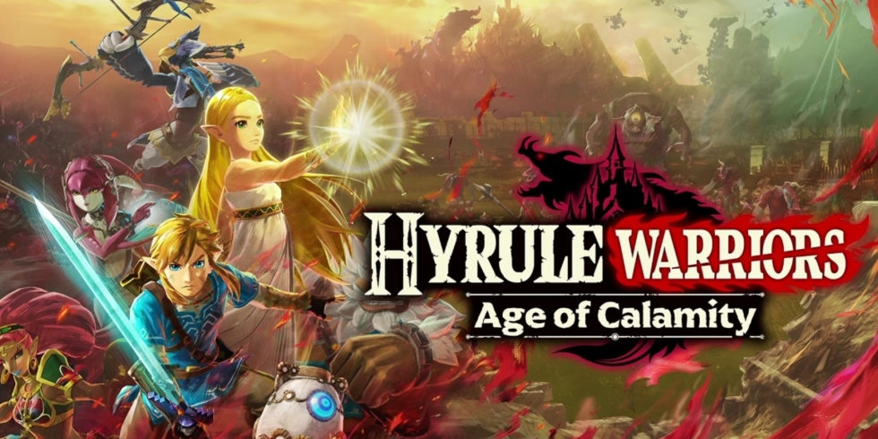 Hyrule Warriors: Age of Calamity nostokuva vaakatasossa