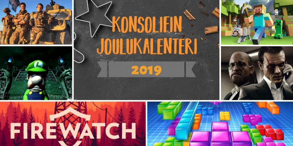 Joulukalenteri 2019 Firewatch-elokuva