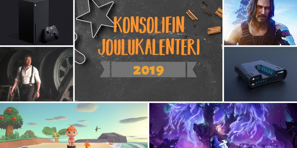 Joulukalenteri 2019 odotukset vuodelle 2020
