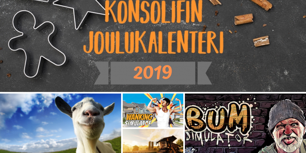 Joulukalenteri 2019 simulaattorien nostokuva