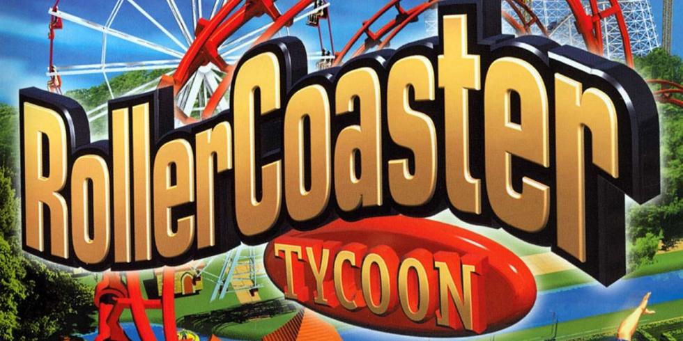 RollerCoaster Tycoon kansikuva