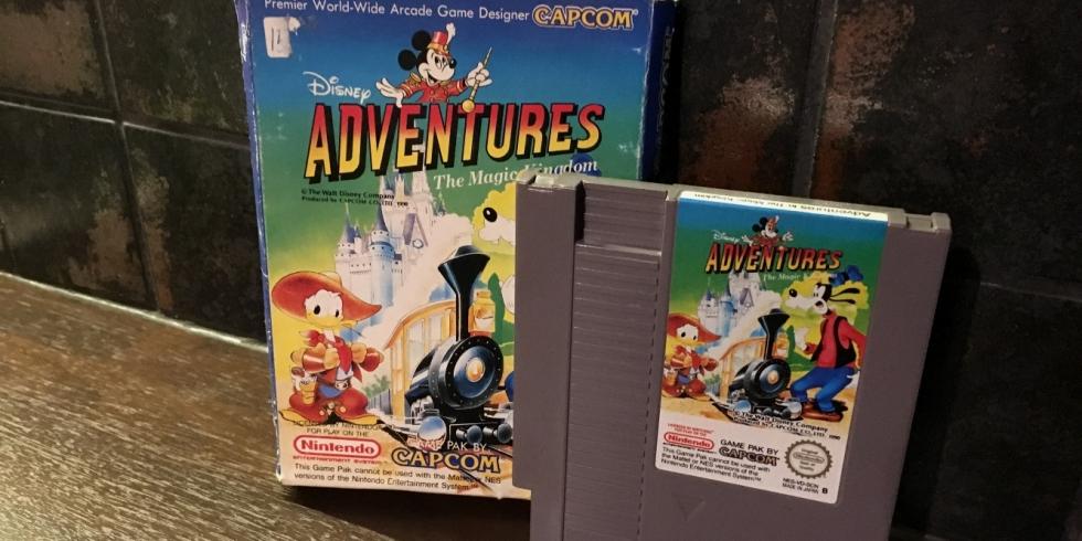 Adventures in the Magic Kingdom NES Retromuistelo