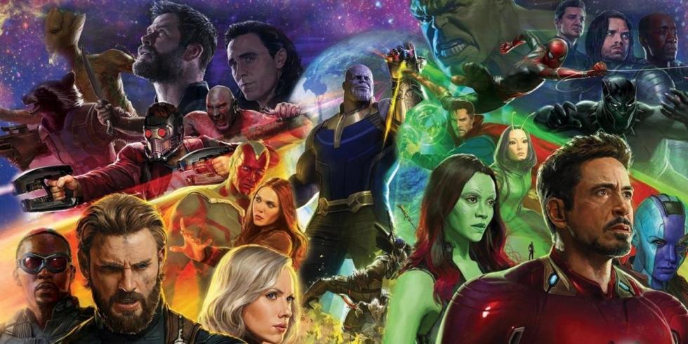 Avengers Infinity War hahmoja vaikka muille jakaa