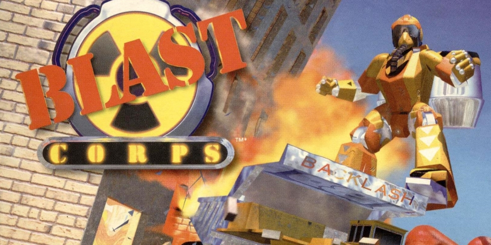 Blast Corps kansi