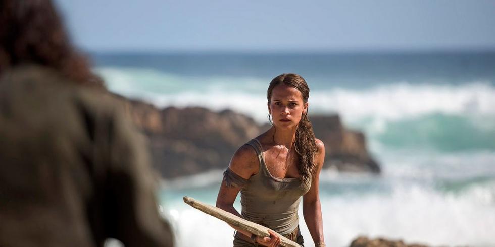 Tomb Raider Alicia Vikander ranta