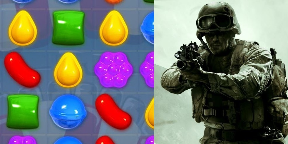 Candy Crush Call of Duty King