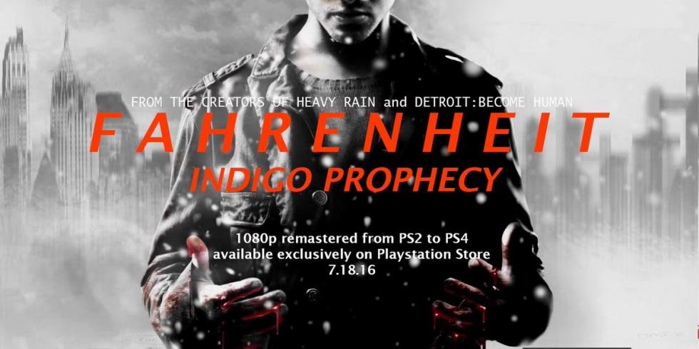 Fahrenheit PS4