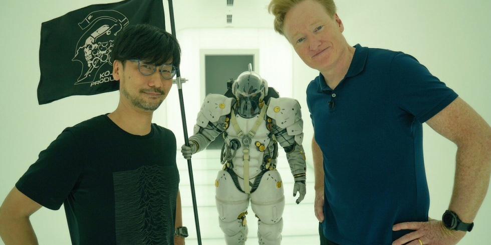 Conan O'Brien ja Hideo Kojima