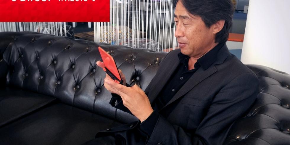Nintendo Direct Satoru Shibata