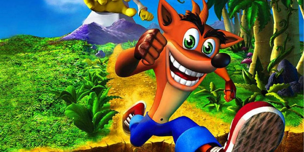 Crash Bandicoot on iloinen jamppa