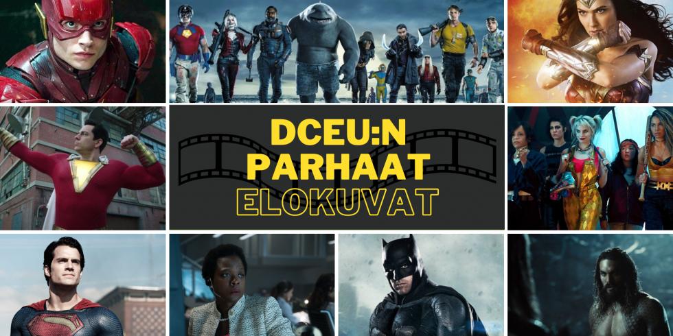 DCEU DC parhaat elokuvat toimituksen mielestä