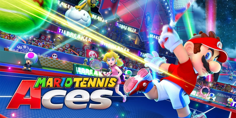 Mario Tennis Aces Switch kansi