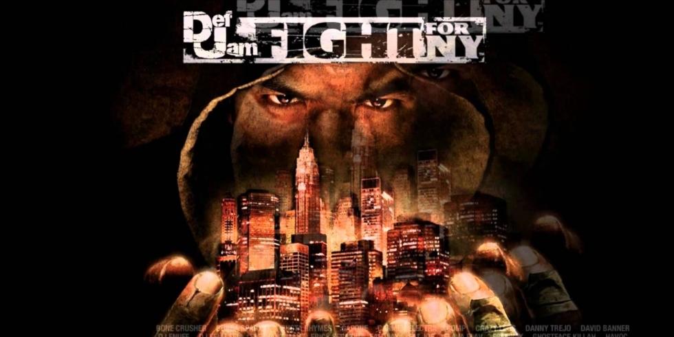 Def Jam Fight for NY muokattu banneri
