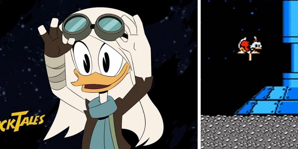 DuckTales Moon Della Duck Kuu sarja