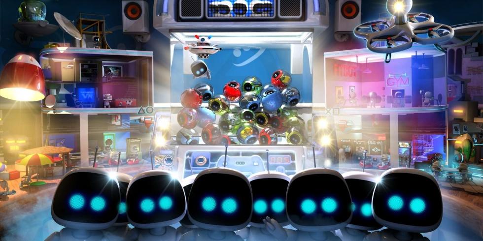 Firesprite playstation Playroom VR