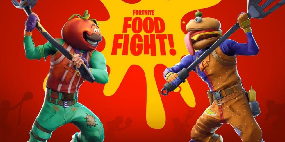 Fortnite Food Fight ruokasota