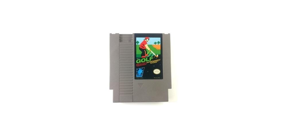 Golf NES pelikasetti Nintendo