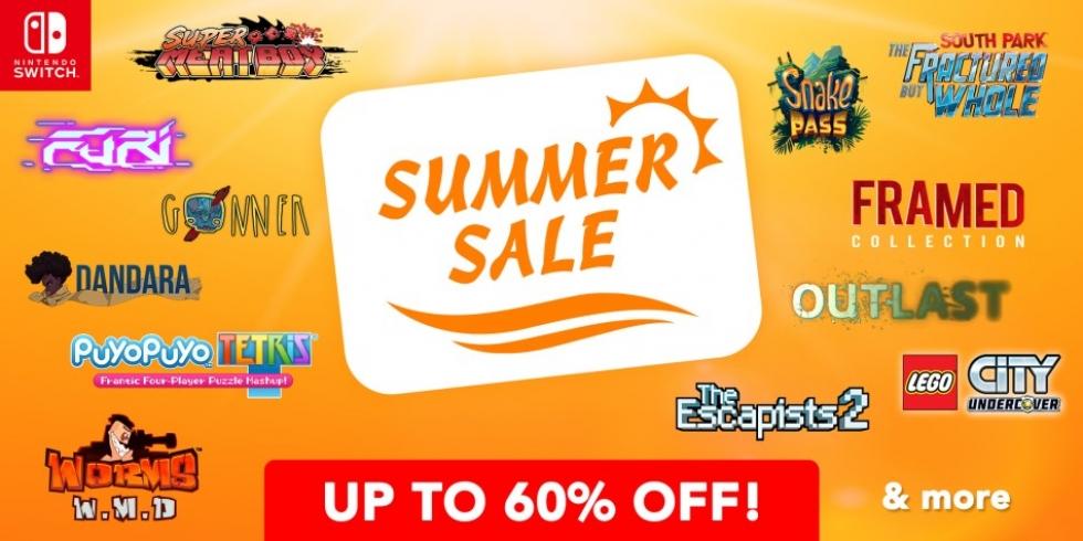 Nintendo Switch Summer Sale kesä alennusmyynnit