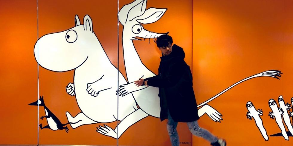 Hideo Kojima ja muumit