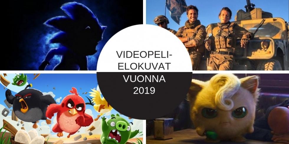 Videopelielokuvat vuonna 2019