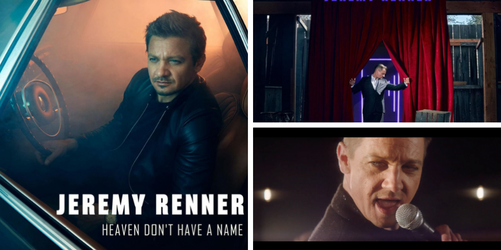 Jeremy Renner Hawkeye on laulaja