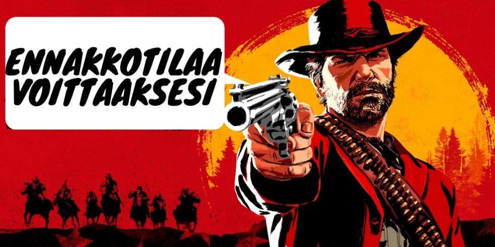 Blogi ennakkotilaa voittaaksesi Red Dead Redemption 2