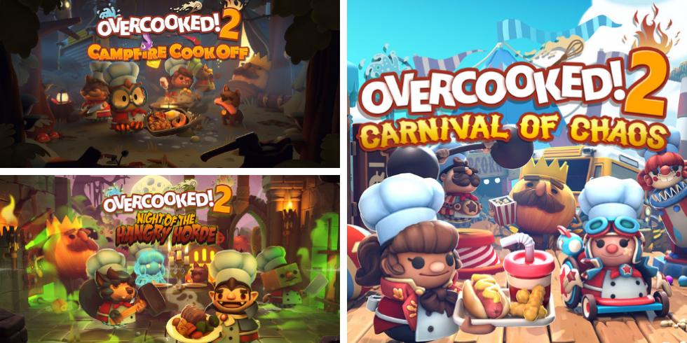 Overcooked! 2 Season pass kolme dlc-pakettia