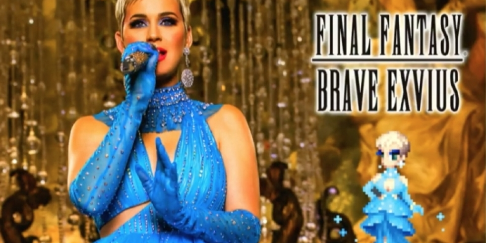 Katy Perry Final Fantasy Brave Exvius