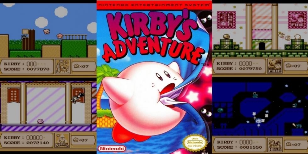 Kirby's Adventure NES Retromuistelo kansikuva