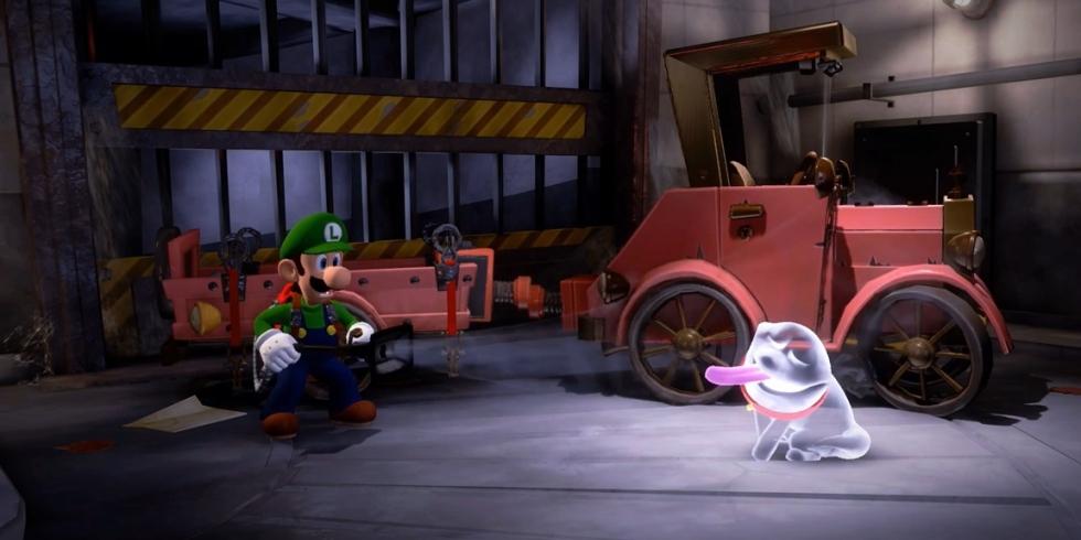 Luigi's Mansion 3 koirahaamu kuvissa